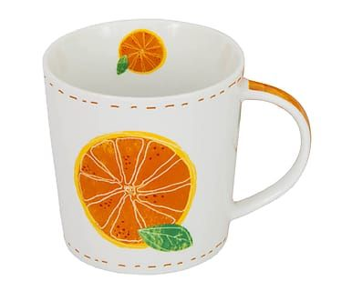 Tasse Fashion Orange, 350 ml