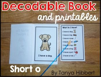 It is a picture of Vibrant Free Printable Decodable Books for Kindergarten