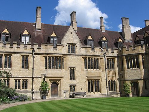 Academia - St Cross College, Oxford (got my offer 14/3/13!)