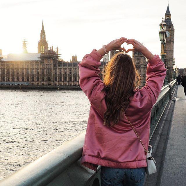Sending love from London ❤️