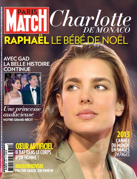 cette semaine dans paris match monaco accueille son petit prince rapha l princesse. Black Bedroom Furniture Sets. Home Design Ideas