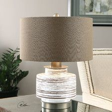 """Saltillo 19.25"""" H Table Lamp with Drum Shade"""