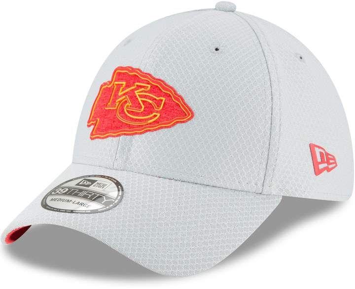 2d881143 New Era Adult Kansas City Chiefs 39THIRTY Training Flex-Fit Cap ...