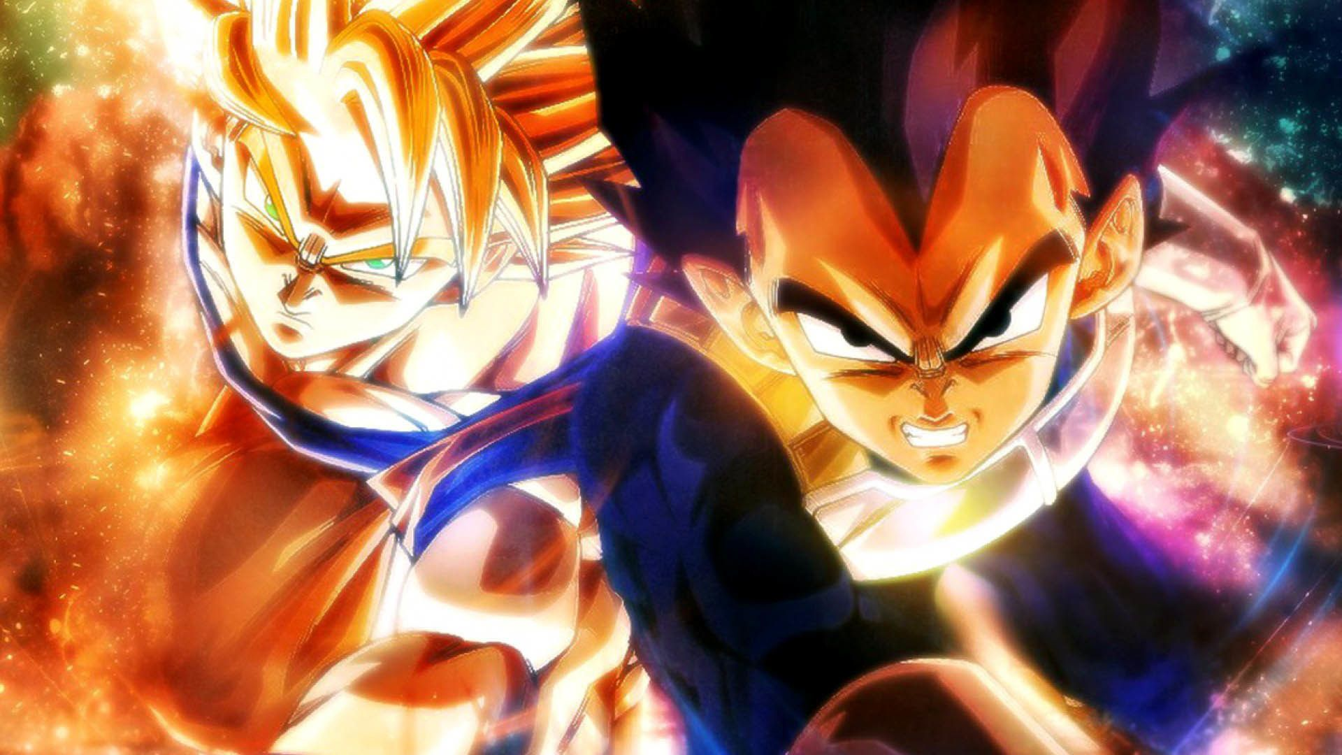 1920x1080 Dragon Ball Goku Vegeta 1920x1080 Wallpaper With