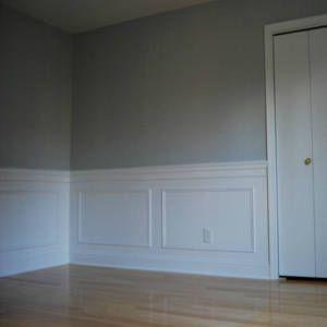 Listones para muros decoracion casa pinterest madera - Moldura madera pared ...