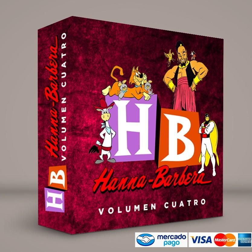 Hanna Barbera Volumen IV · Español latino · Pixie, Dixie y Mr Jinks · Shazzan · Tiro Loco McGraw · El Fantasma del Espacio · DVD · Blu Ray · Colección exclusiva de RetroReto · Visita nuestra RetroTienda → http://www.RetroReto.com/ Pedidos: 0414.4027582