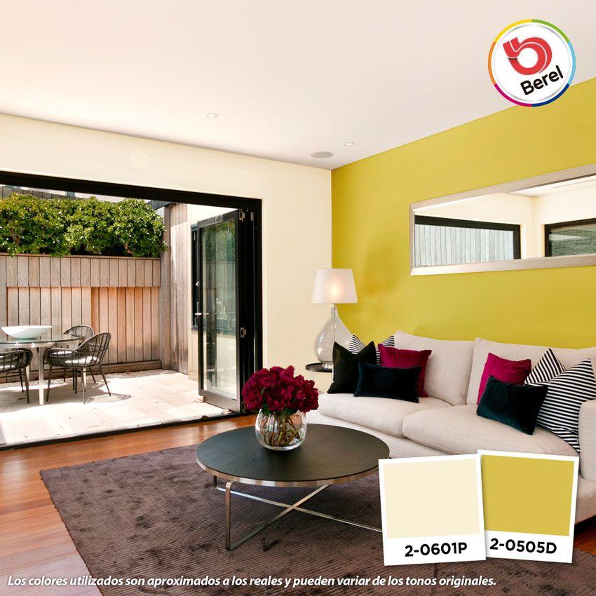 Buscas Inspiracion De Colores Para Tu Sala Te Mostramos Algunas Sugerencia Colores De Casas Interiores Interiores De Casa Combinaciones De Colores Interiores