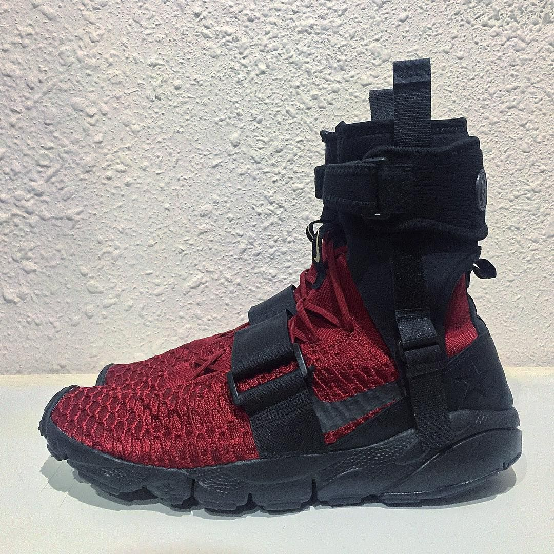 Nike Footscape Magista Flyknit Deadpool custom  7a8adbe71