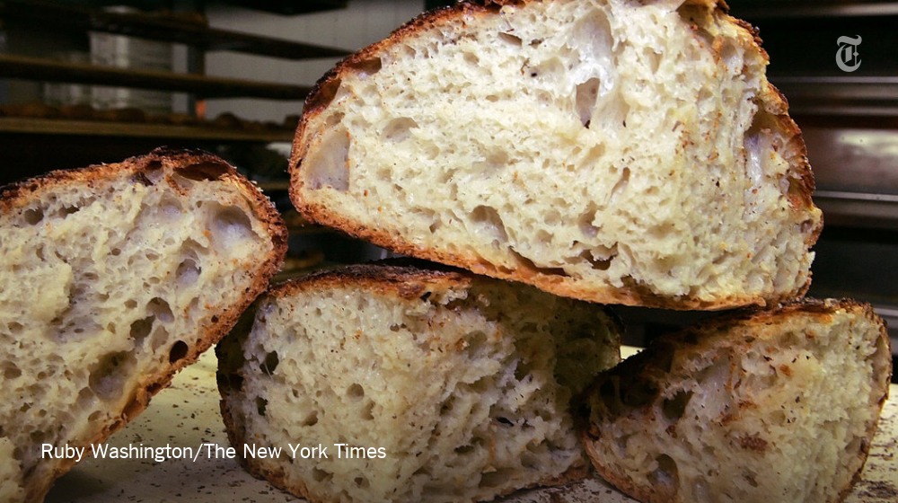 """The New York Times on Twitter: """"The one, the only, the easiest, the classic: no-knead bread https://t.co/wwHMxRrSyG https://t.co/rZglgh7R5z"""""""