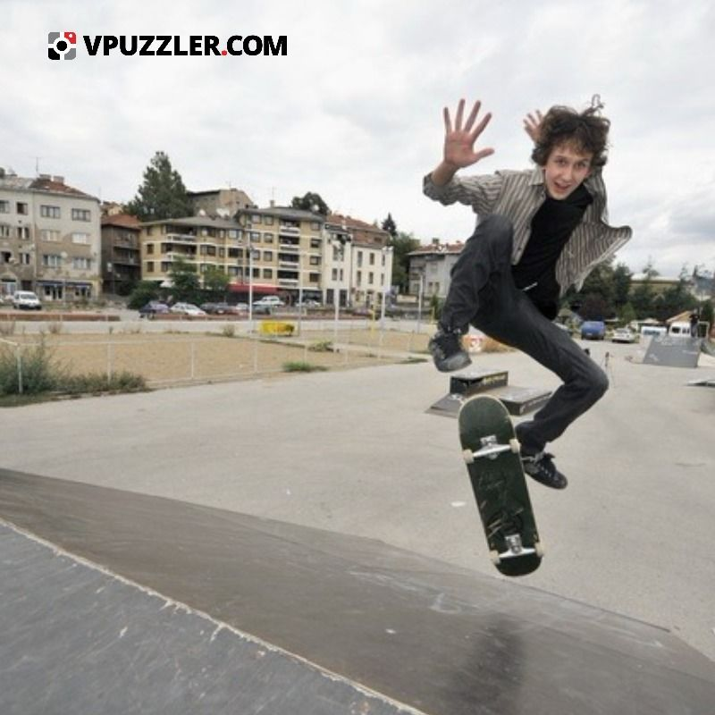 Skateboarder sport street active stockphoto city