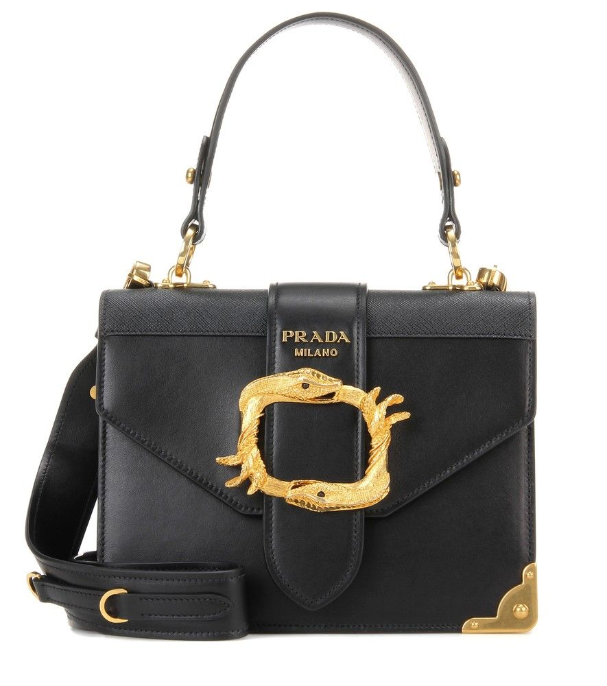 Prada Animalier Leather Bag Crafted From From Fine Calf Leather This Cahier Bag From Prada Is Sumptuously Elegant T Sac Prada Sac A Main Sacs A Main Prada