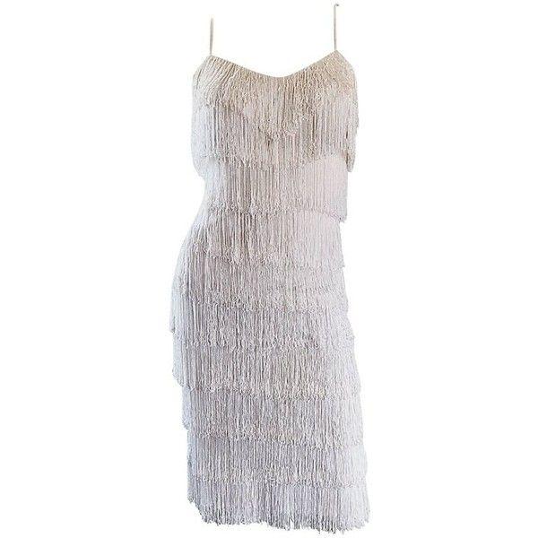 White Cocktail Dresses 1920s