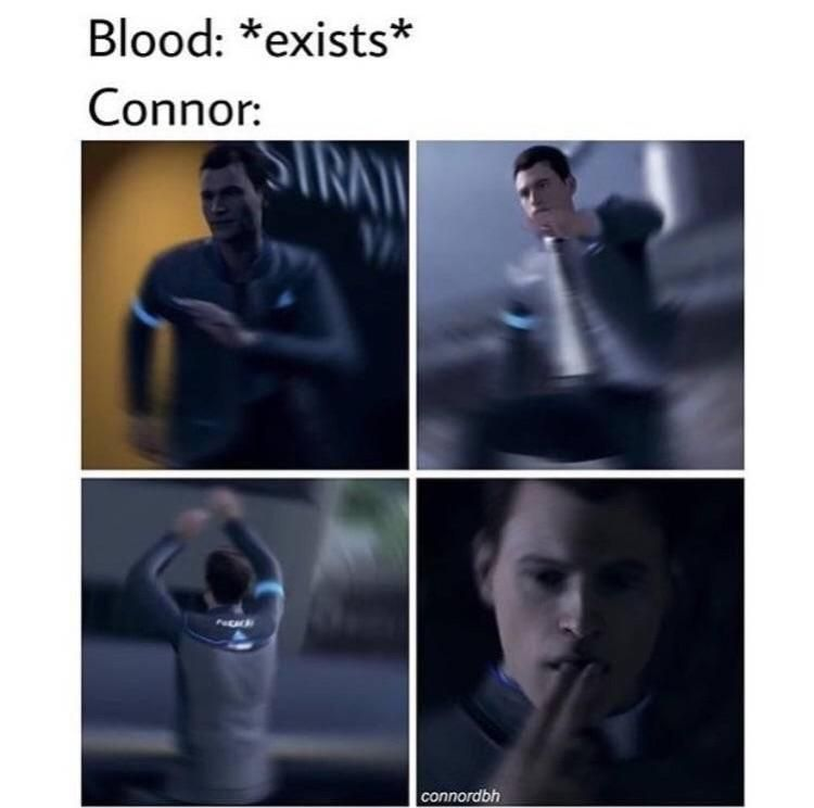 Detroit Become Human Connor Videospiele Witzig Videos