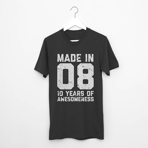 10th Birthday Shirt Tenth Birthday 10th Birthday Ten Year Old 10th Birthday Outfit Tenth Birthd