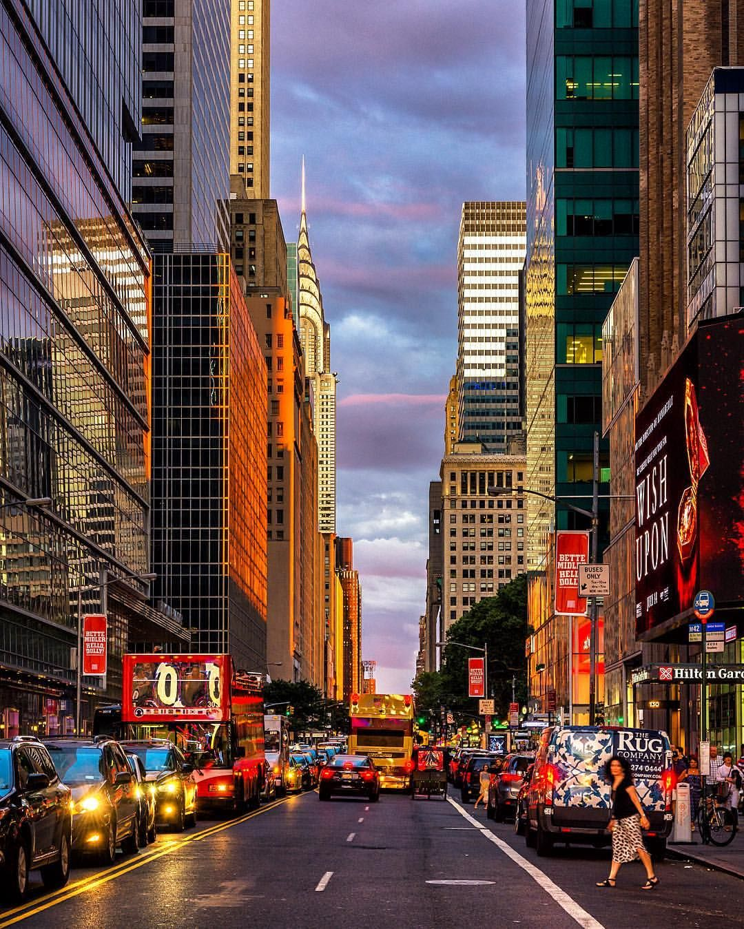 Ny Manhattan: 42nd Street New York City