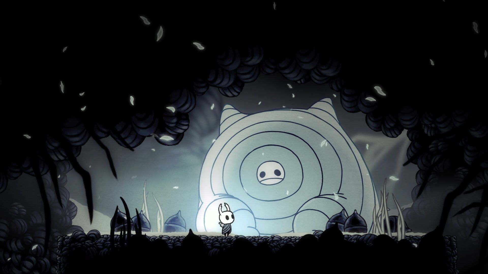 Hollow Knight For Large Desktop Hollow Art Best Wallpaper Hd Knight
