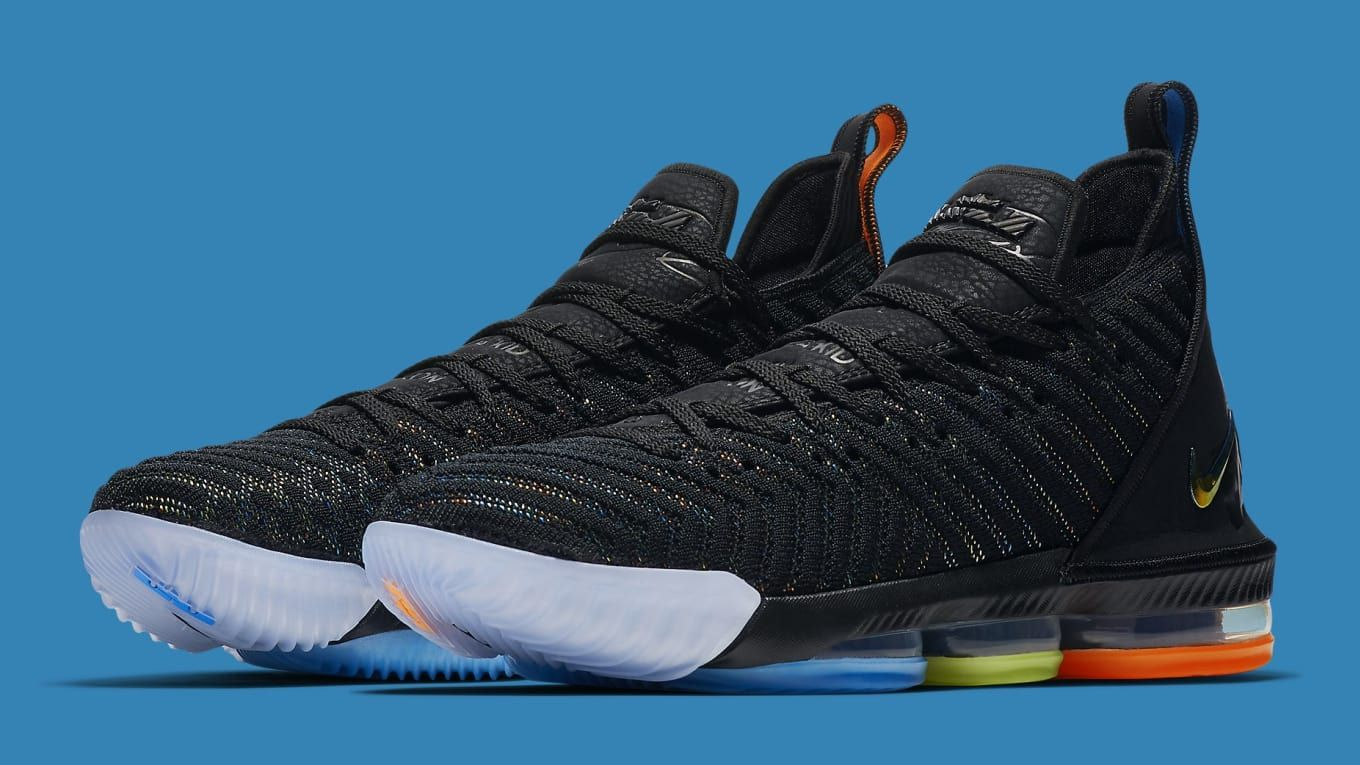 the best attitude cf3d7 fdba8 Nike LeBron 16 I Promise Release Date AO2595-004   Sole Collector