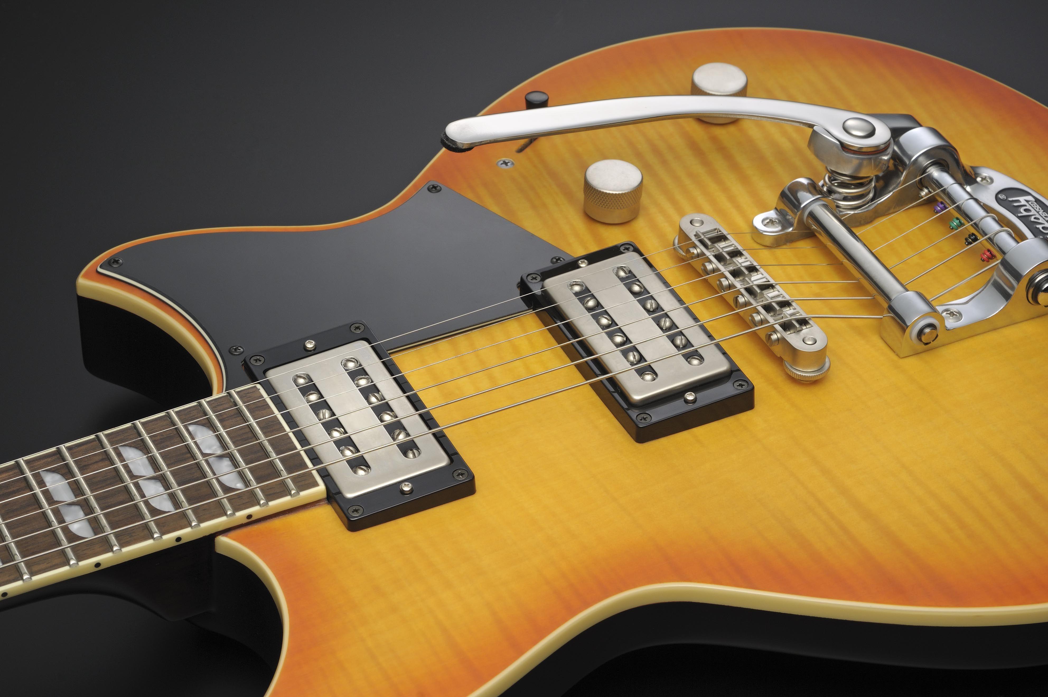 Yamaha Revstar 720B electric guitar Wall Fade with Bigsby B 50 tremolo & locking