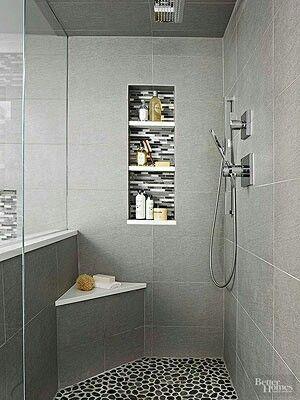 Bathroom Shower I Like The 3 Shelf Insert Bathrooms Remodel