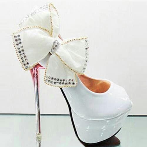 White hills shoes bling bling style