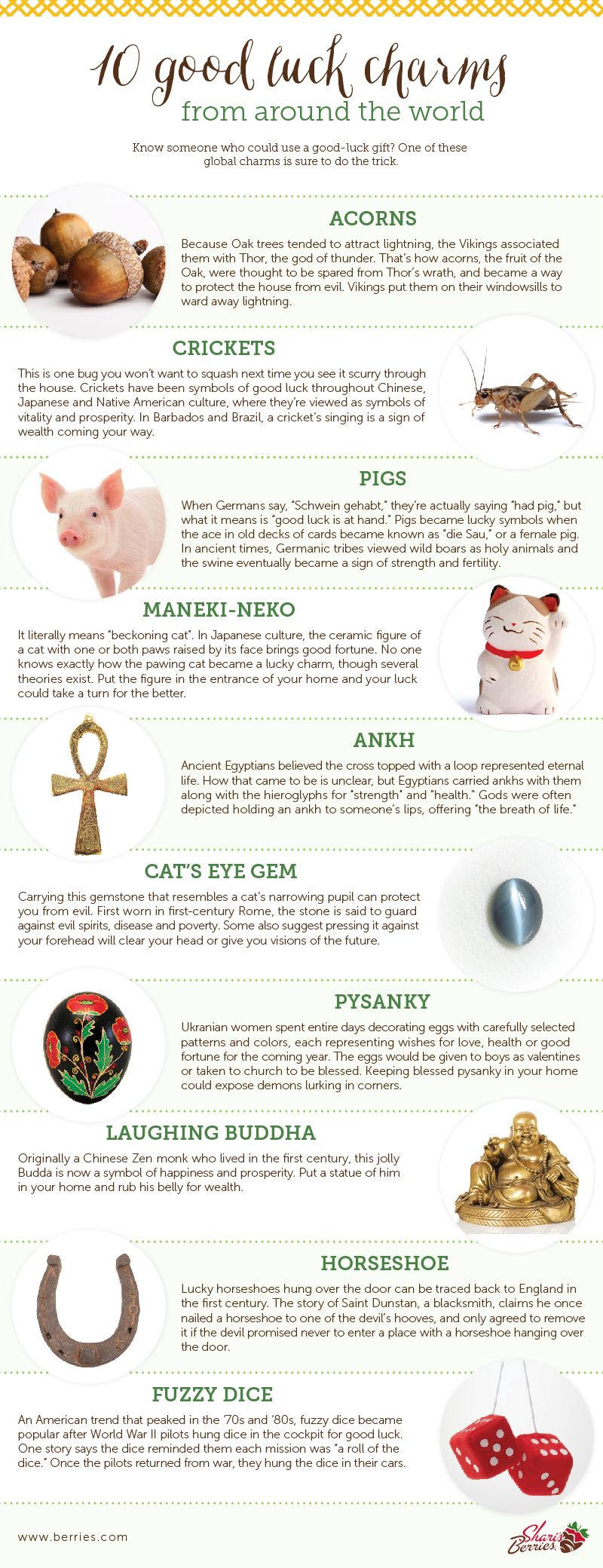 10 Good Luck Charms From Around The World Wicca Religion