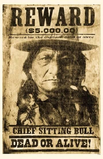 Sitting Bull Masterprint #nativeamericanindians
