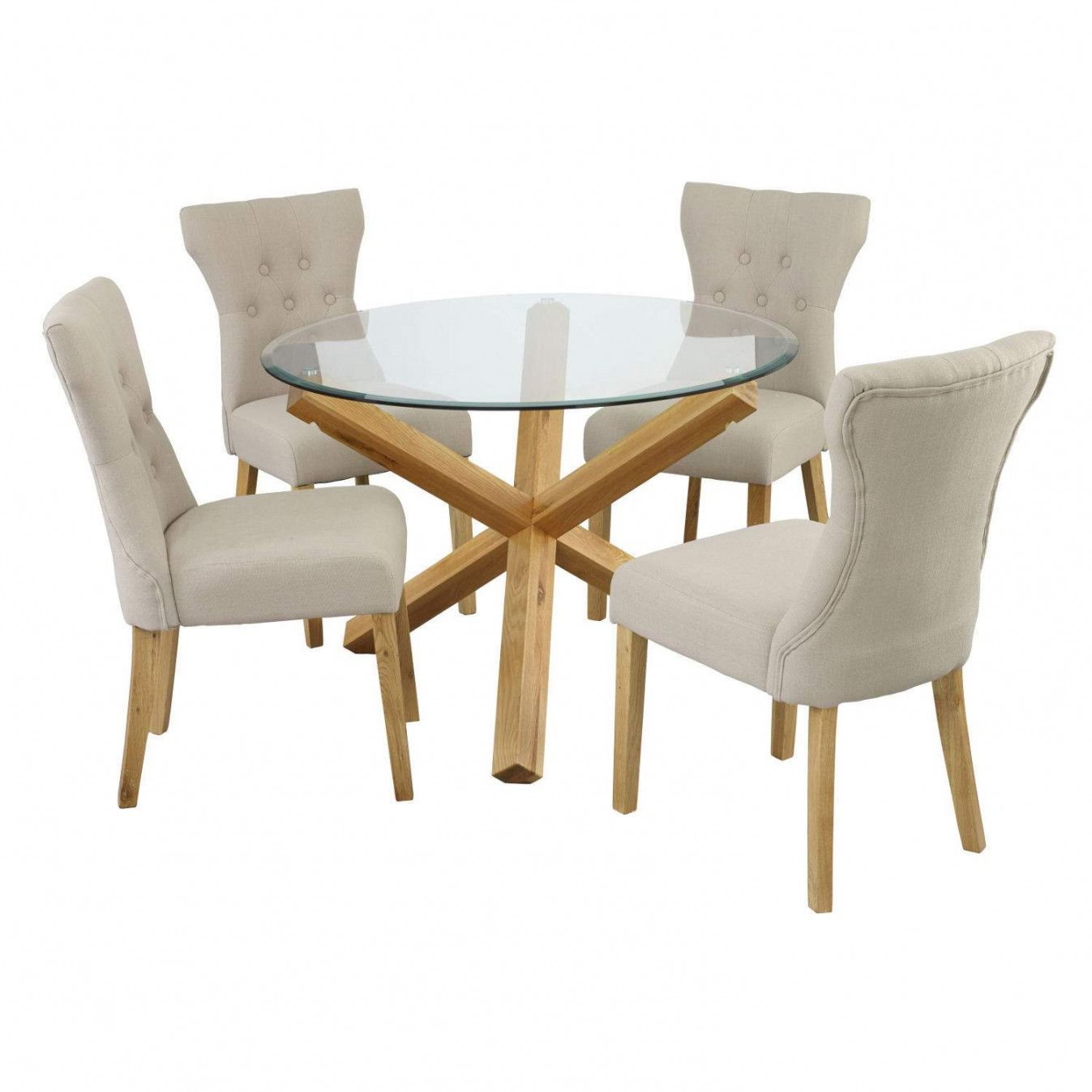 Round dining table and chairs for 4  Pin by easy wood projects on Modern Home interior ideas  Pinterest