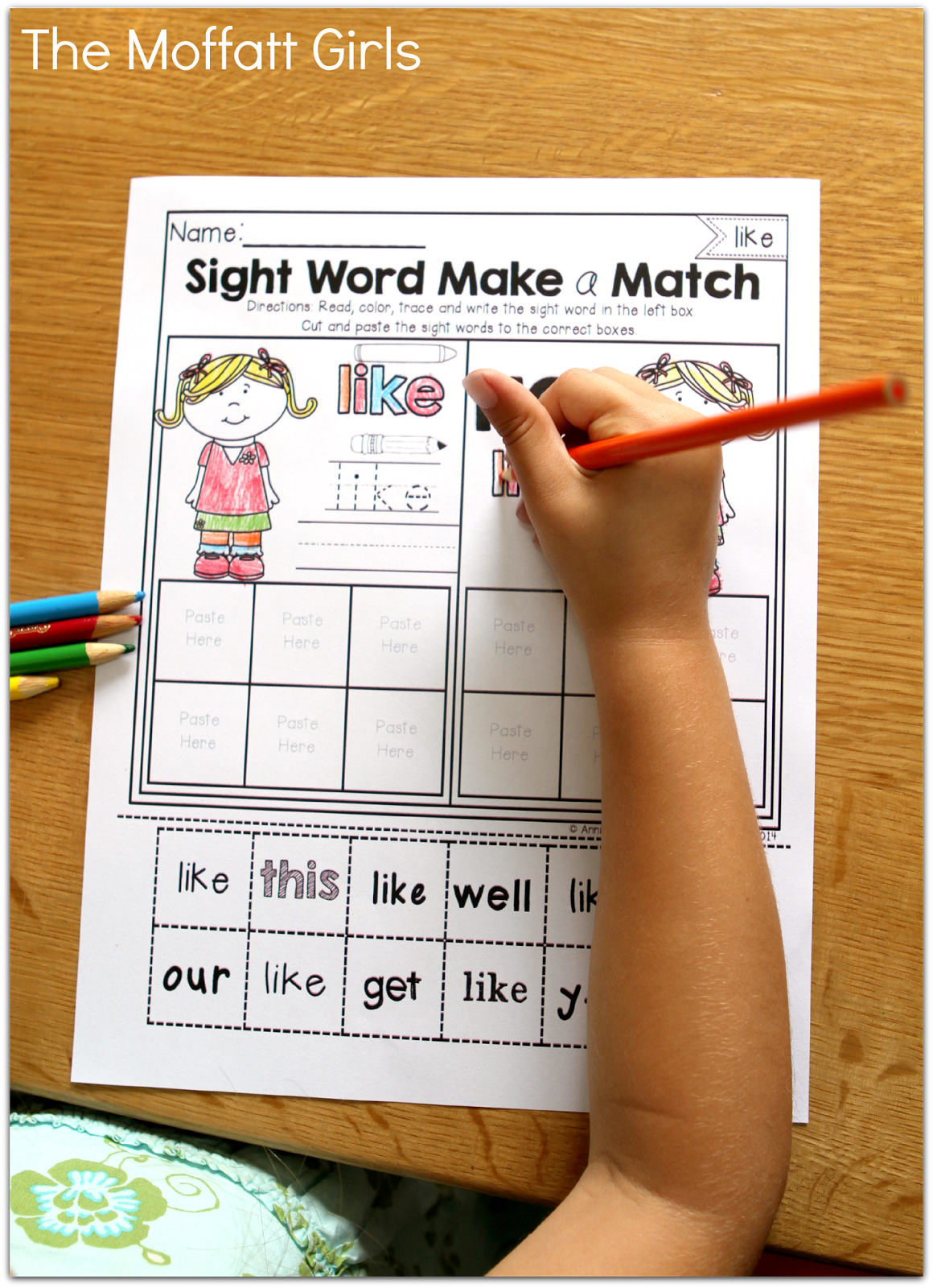 Sight Word Make A Match Fun And Engaging Ways To Learn