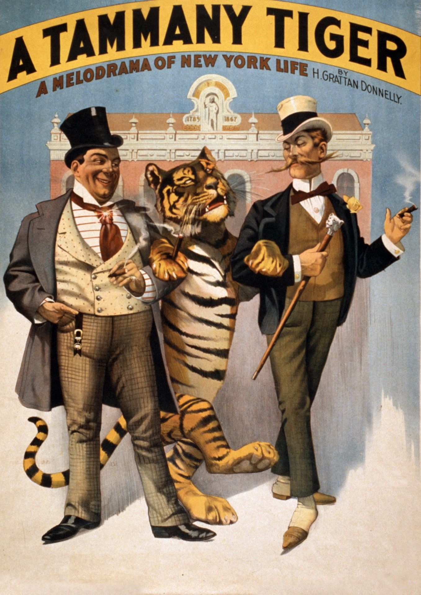 Tammy Tiger Vintage Poster Free Stock Photo Vintage