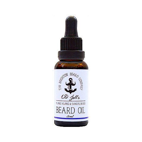THE BRIGHTON BEARD COMPANY Beard Oil – Aceite para Barba de Ylang Ylang y Sándalo 30 ml