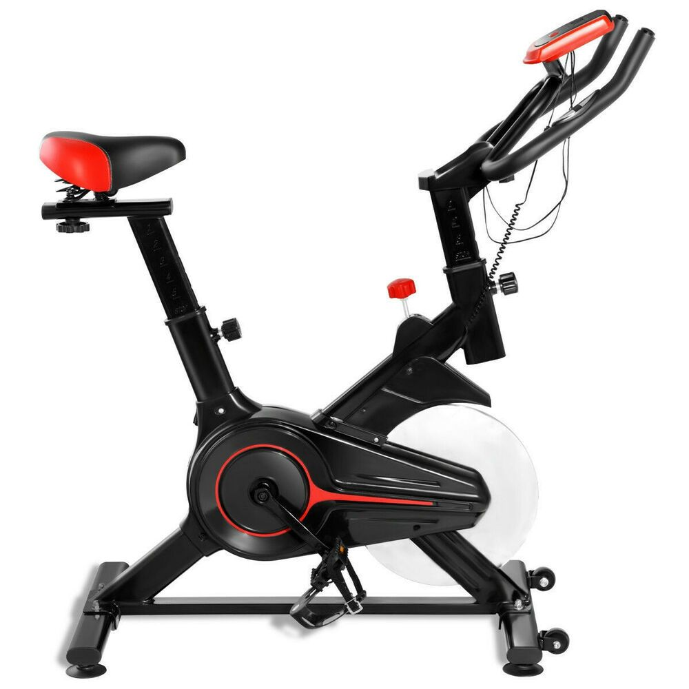 Indoor Workout Lcd Display Cycling Exercise Fitness Cardio Bike Sp36172 6940350820511 Ebay In 2020 Cycling Workout Indoor Workout Bicycle Workout