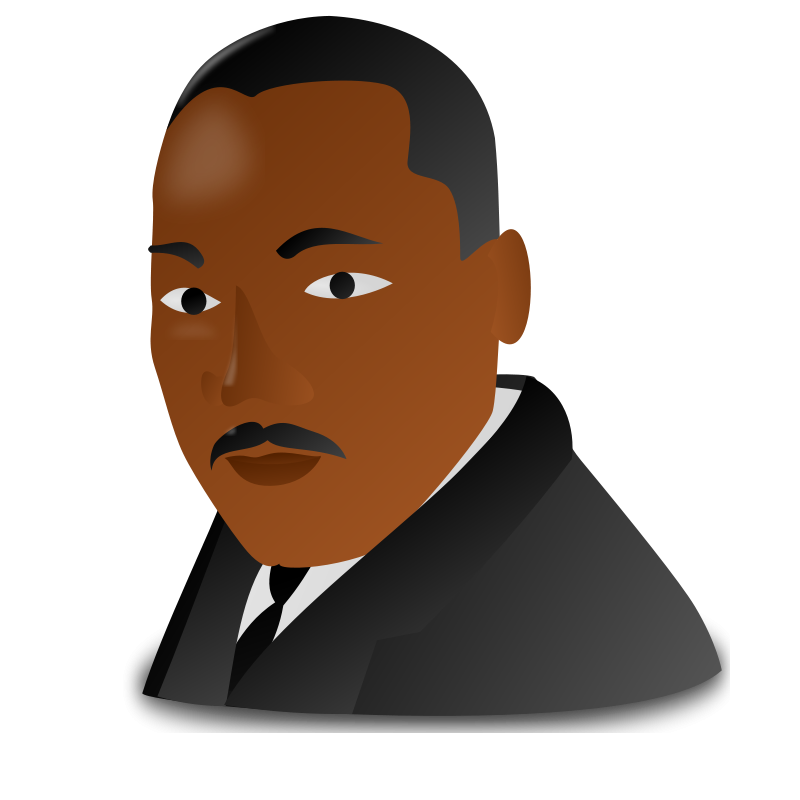 Martin Luther King Jr. Day Icon Clipart Clip art