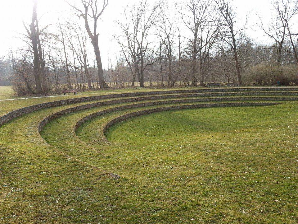 Secrets Of The Englischer Garten A Delightful Amphitheatre Landscape Design Landscape Architecture Model Amphitheater