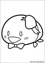 Tsum Tsum Coloring Pages On Coloring Book Info Tsum Tsum