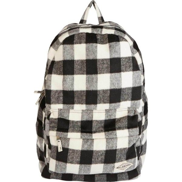 5ace1d0225d2 Hand Over Love Plaid Backpack ( 45) ❤ liked on Polyvore featuring bags