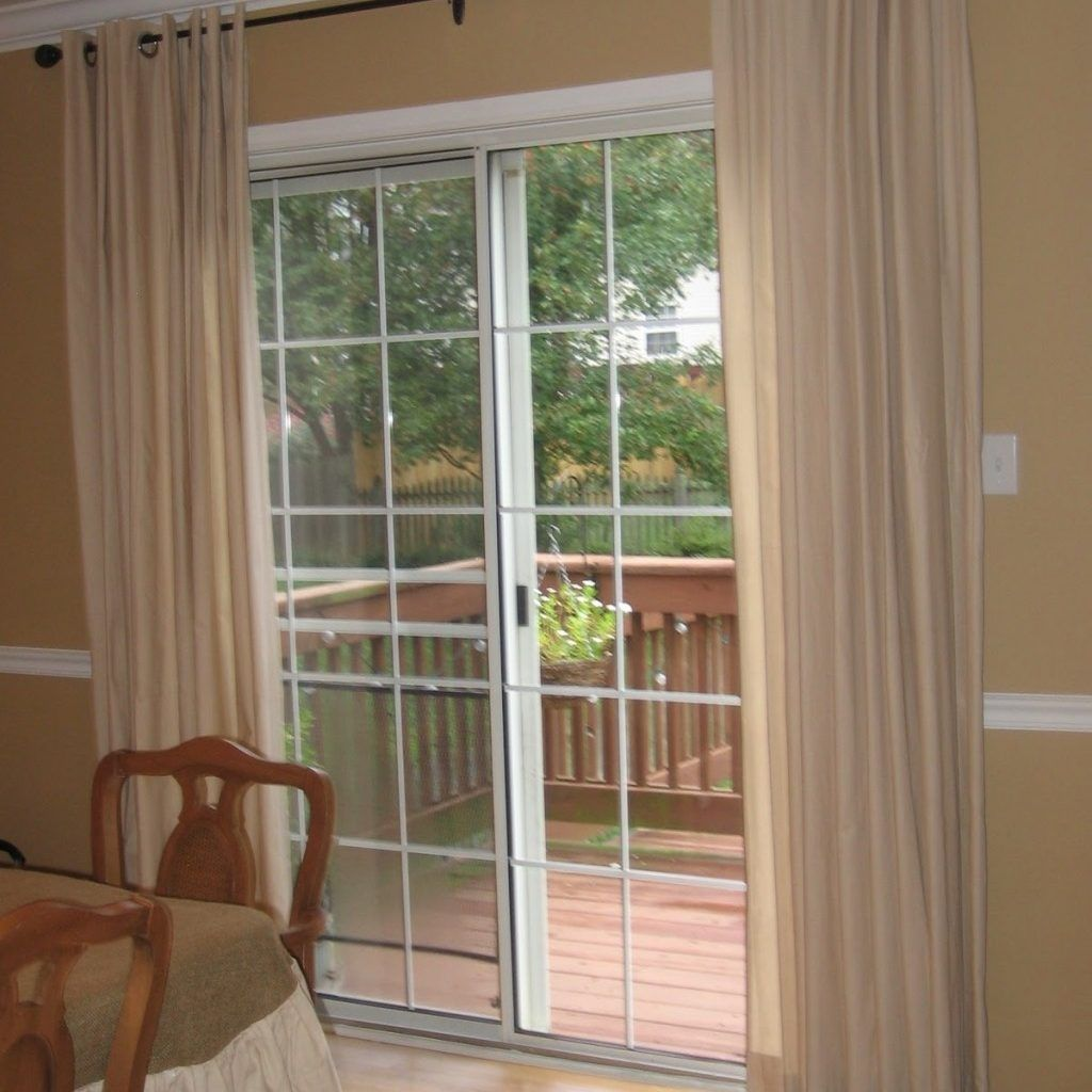 Creative ways to cover a sliding glass door togethersandia