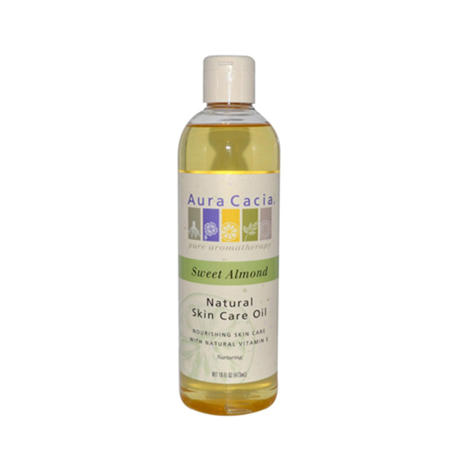 Aura Cacia Natural Skin Care Oil Sweet Almond 16 Fl Oz Liquid Swanson Health Products Natural Oil Skin Care Oil Skin Care Natural Oils For Skin