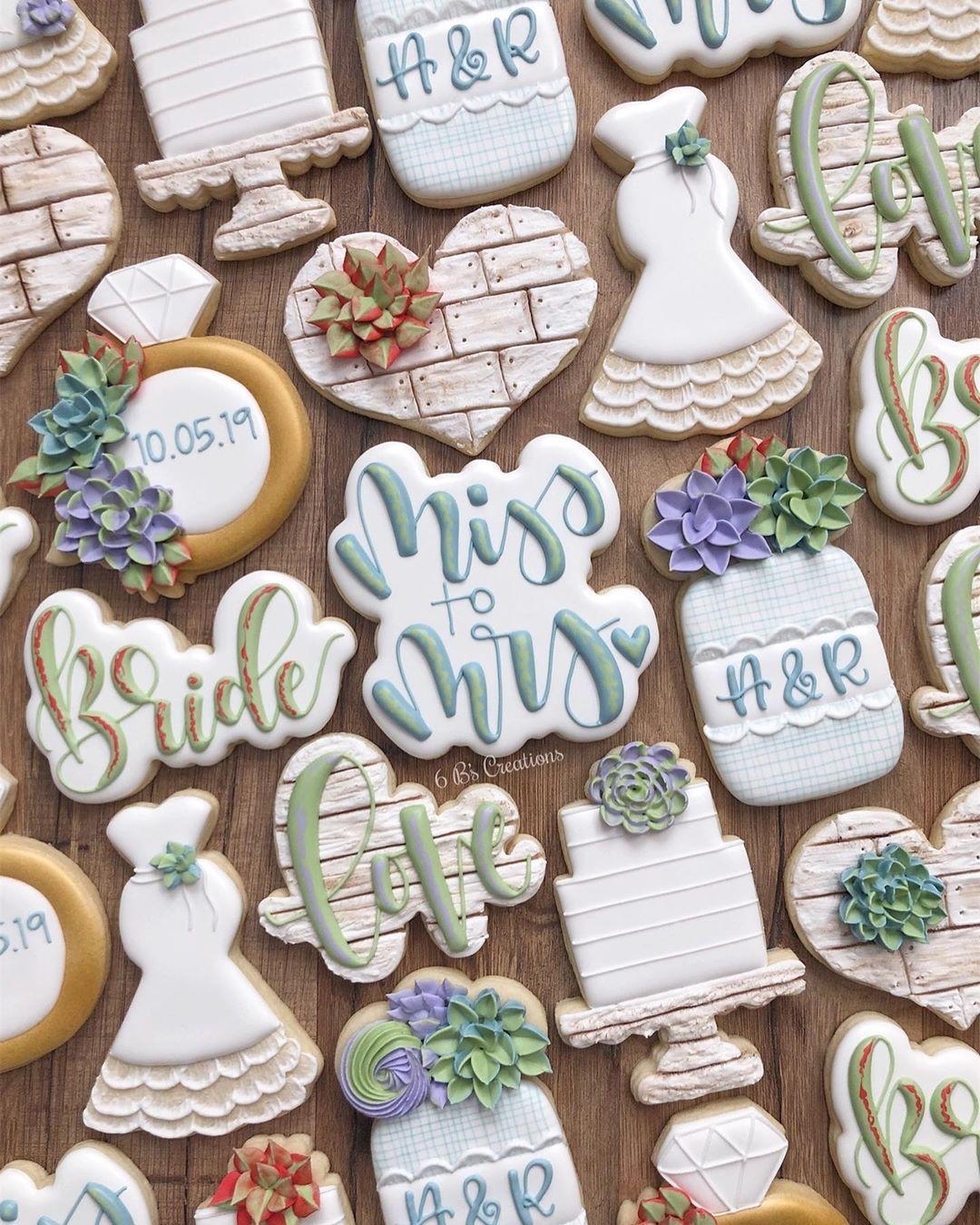 Bridal shower cookies image by meg fink on bridal shower