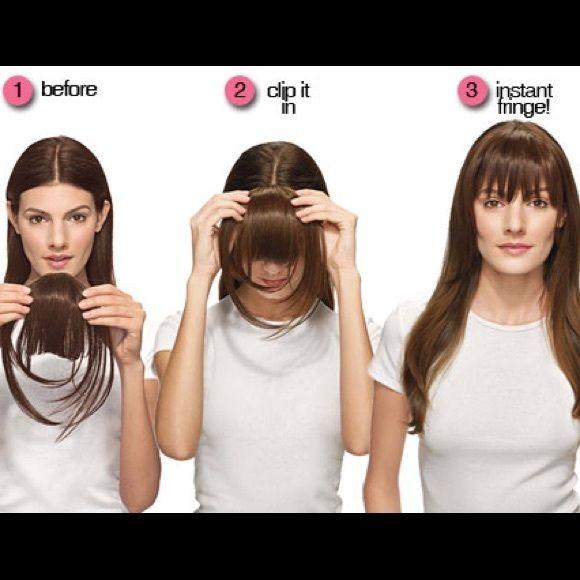 Clip In Bangs Hair Extensions New Hairstyles With Bangs Long Hair Styles Hair