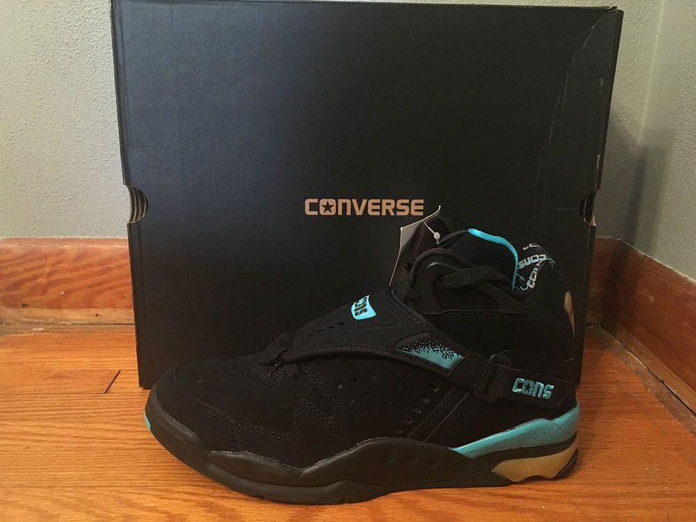 Converse Aero Jam Hi Larry Johnson Grandmama Black (143275c)