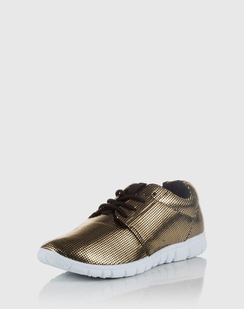 Metallischer Sneaker 'Disco' by Blinker (22€)