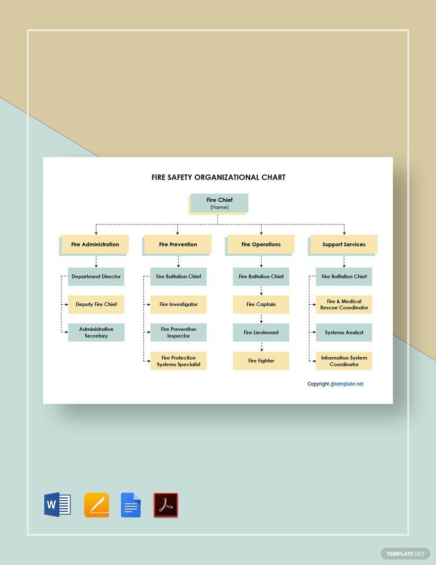 Chain Of Command Chart Template Fresh Fire Department Organizational Chart Template Word Primary Chain Of Command Basic Cv Template Cv Template Word