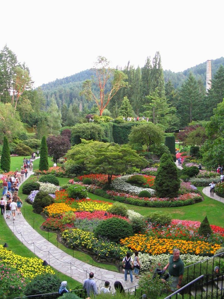 Butchart Gardens, Victoria, BC The Most Beautiful Garden I Have Ever Seen!