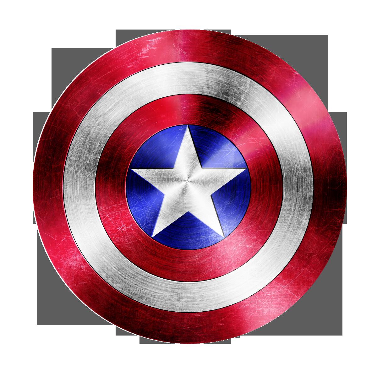 captain americas sheild elbow peice