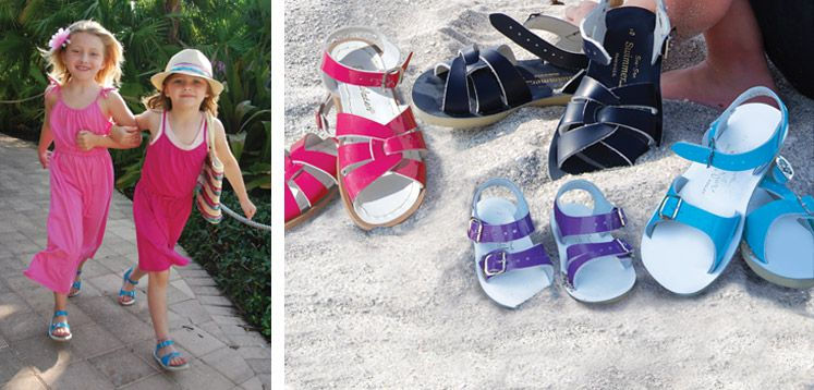 Sun San Salt Water Sandals - our go to summer shoes for toddlers! Can even