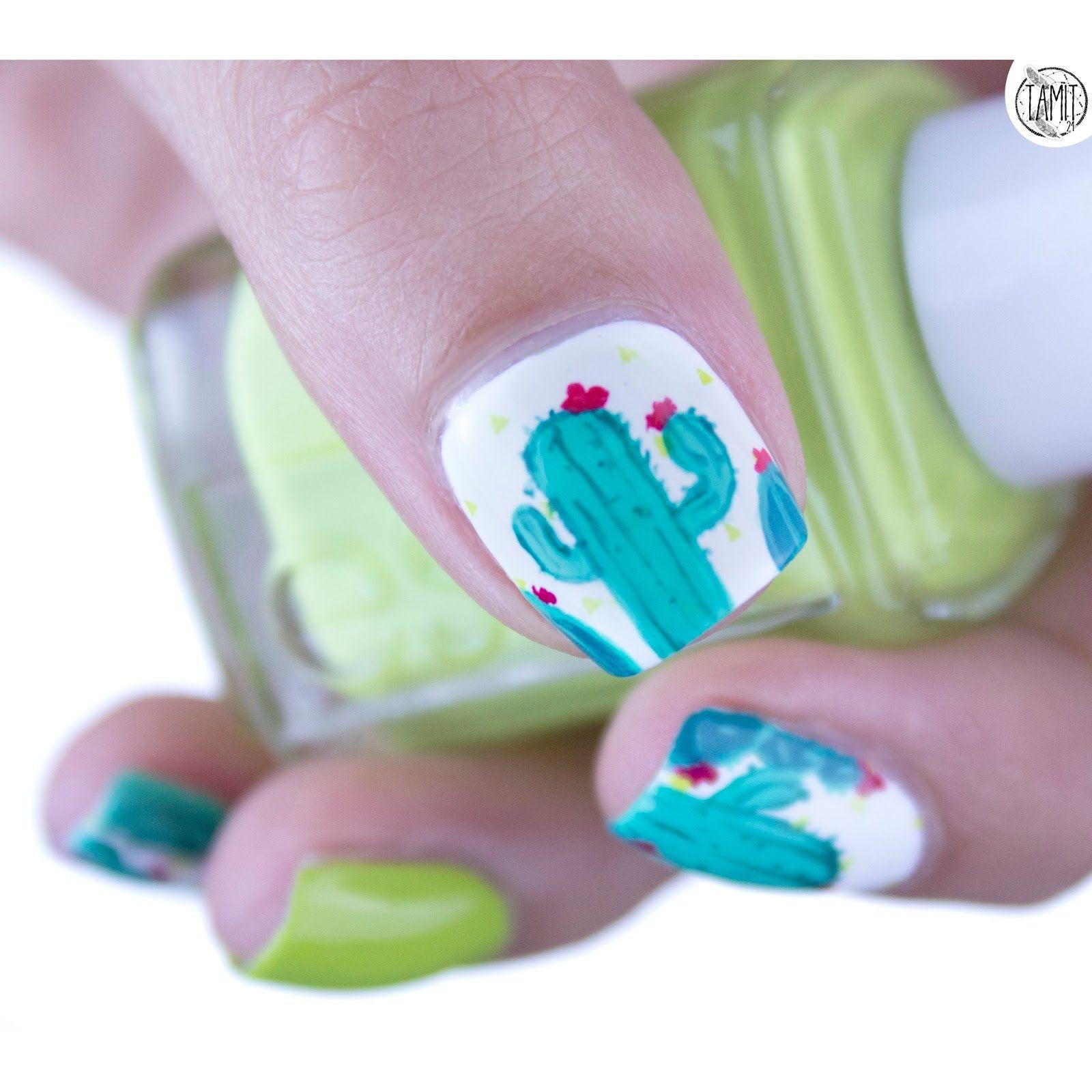 CACTUS! | Nails | Pinterest