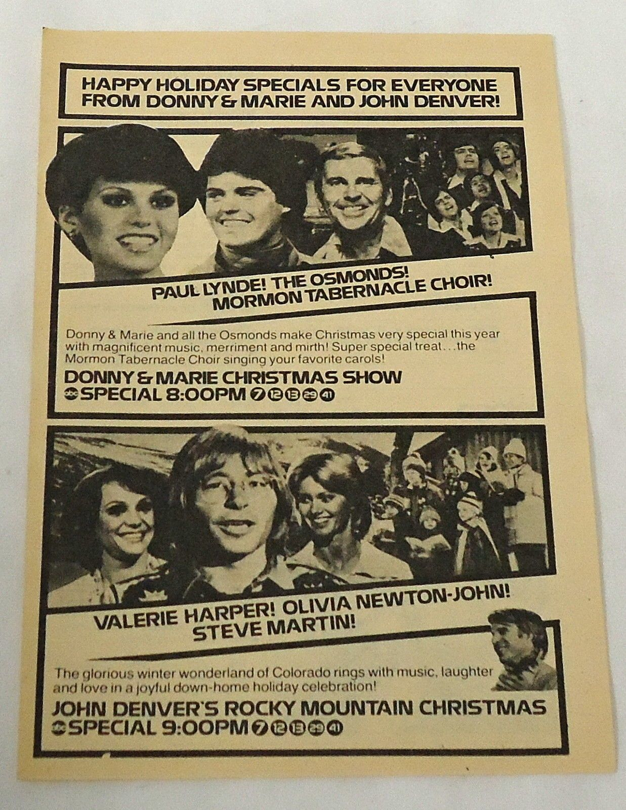John Denver\'s - Rocky Mountain Christmas | John Denver!- Far Out ...