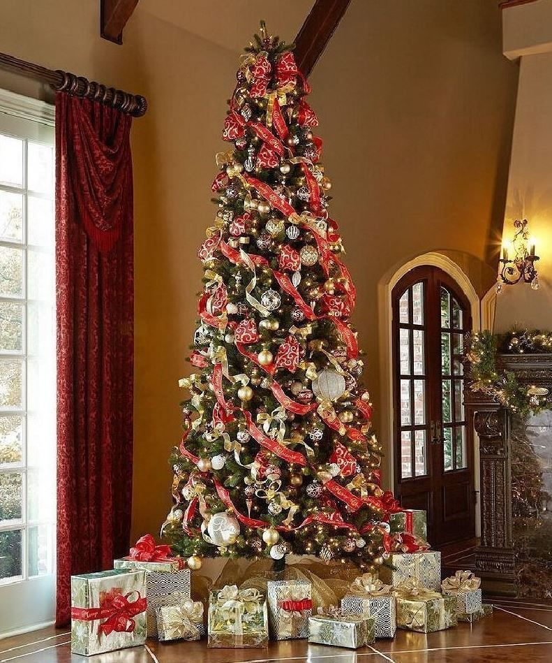 Tall Christmas Tree Decorating Ideas.40 Most Beautiful Christmas Tree Decorating Ideas
