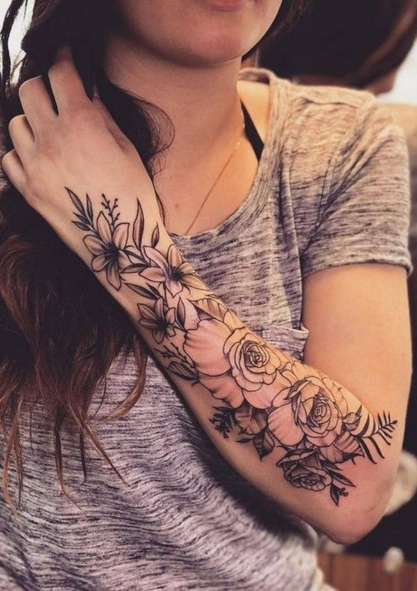 Mesmerizing Sleeve Tattoos For Women Tips And Ideas Tattoos For Women Flowers Sleeve Tattoos For Women Beautiful Flower Tattoos