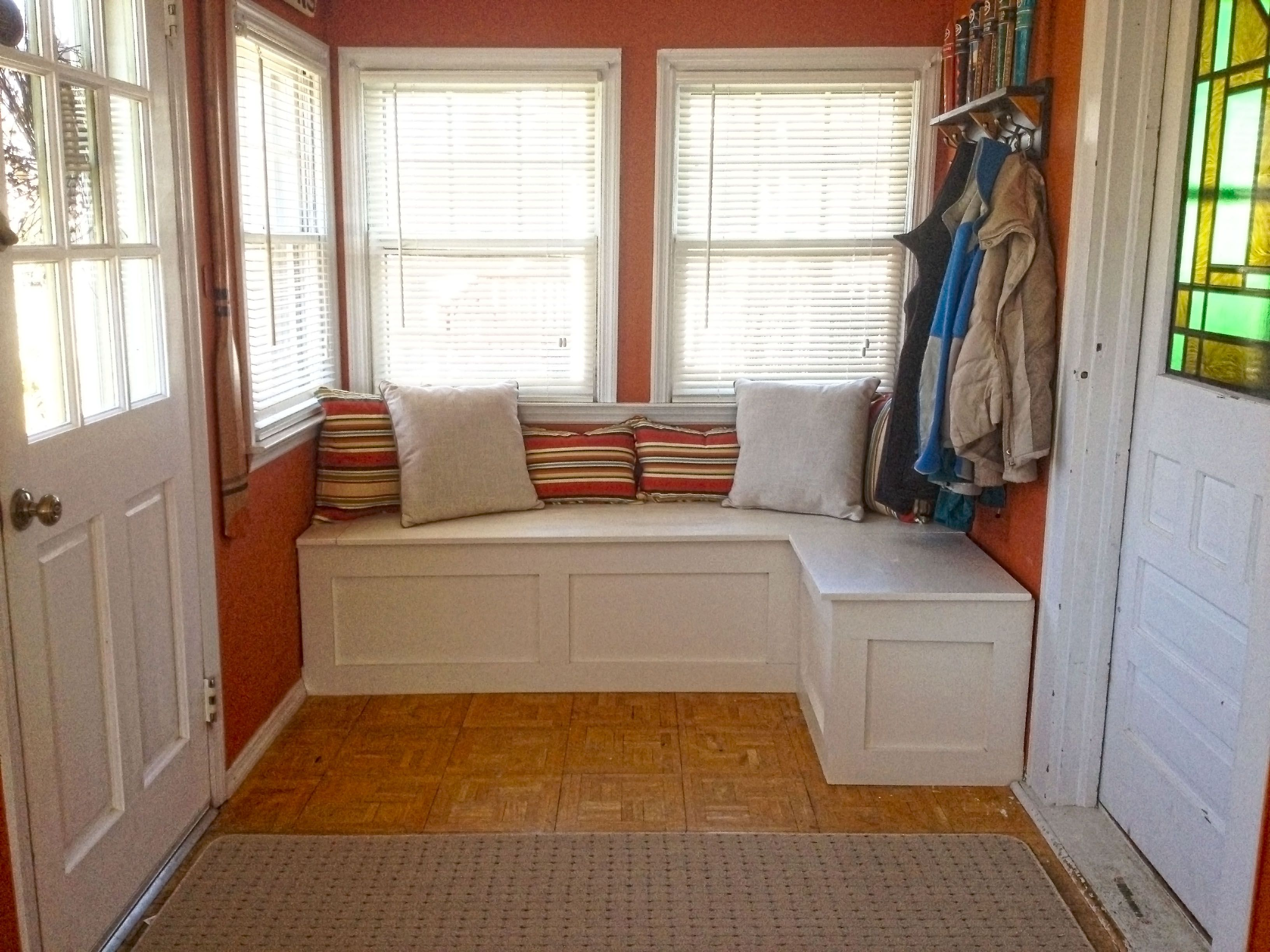 Window Seat Bench Ideas Part - 21: DIY Window Seat/Storage Bench